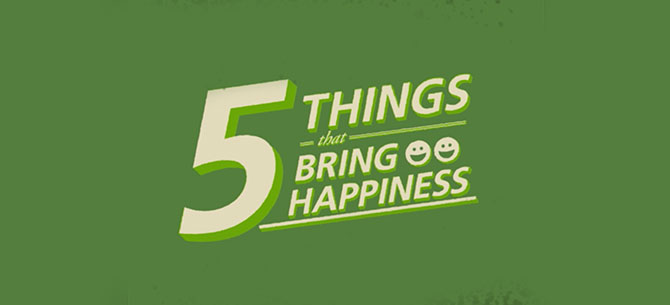 5 Happy Habits