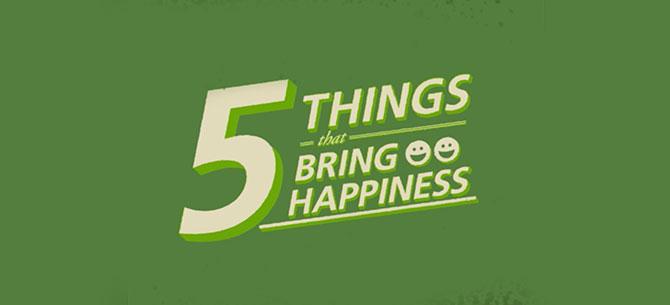 5 Happy Habits
